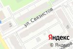 Схема проезда до компании Fouette в Перми