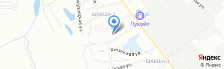 Средняя общеобразовательная школа №131 на карте Уфы