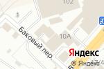 Схема проезда до компании Вишера-трейд в Перми