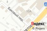 Схема проезда до компании Центр обои Пермь в Перми