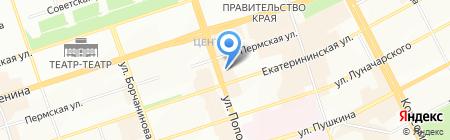 Creative star на карте Перми