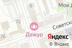 Схема проезда до компании Bravo в Перми