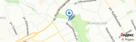 Салон штор Татьяны Лариной на карте Перми