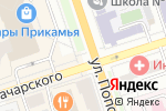 Схема проезда до компании Monkey Man в Перми