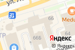 Схема проезда до компании КОМПАНИЯ ПРЕЗИДЕНТ в Перми