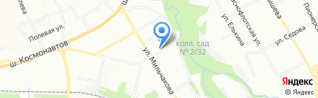 Уралподрядмонтаж на карте Перми