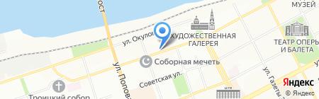ЭнергоТрейдПермь на карте Перми