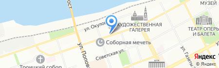 Бутик путешествий на карте Перми