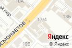 Схема проезда до компании Триколор-ТВ в Перми