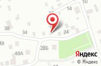 Схема проезда до компании ПРИДОРОЖНОЕ в Зелёной Поляне
