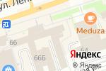 Схема проезда до компании Эйшта в Перми