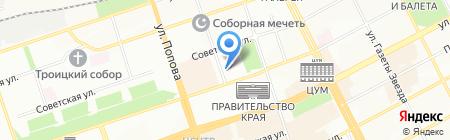 Сивинский леспромхоз на карте Перми