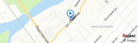 Детский сад №273 на карте Уфы