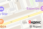 Схема проезда до компании L`style в Перми