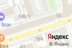 Схема проезда до компании Пермпромпроект в Перми