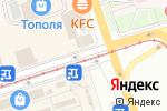 Схема проезда до компании Киоск по продаже фруктов и овощей в Перми