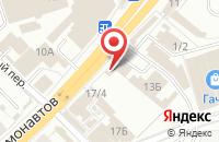 Схема проезда до компании Мастерская в Перми