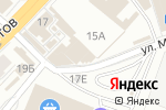 Схема проезда до компании Магазин домашнего текстиля в Перми