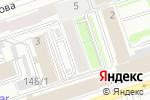Схема проезда до компании Calm Inn в Перми