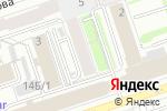 Схема проезда до компании Лаки в Перми