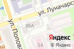Схема проезда до компании Трезон в Перми
