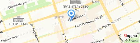 Уралэнергосила на карте Перми