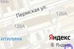 Схема проезда до компании Центр лицензионно-разрешительной работы в Перми