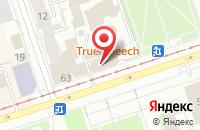 Схема проезда до компании Итг-Финансы в Перми