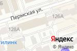 Схема проезда до компании Центр психофизиологической диагностики в Перми