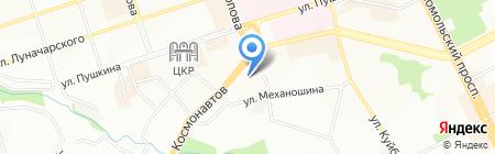 Центр плов на карте Перми