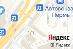 Схема проезда до компании Бистро в Перми