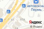 Схема проезда до компании Торгово-сервисная компания в Перми
