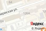 Схема проезда до компании Олимп-Урал в Перми
