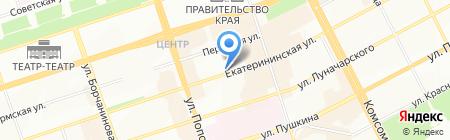 Вектор движения на карте Перми
