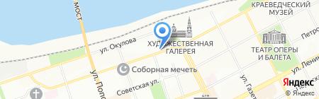 Траст на карте Перми