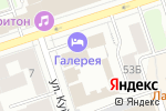 Схема проезда до компании ГОЛД СТАР-АЛЬЯНС в Перми