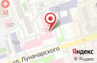 Схема проезда до компании Тд Электрум в Перми