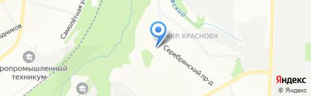 Дива на карте Перми