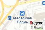 Схема проезда до компании Пермфармация в Перми
