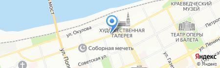 Интерпром на карте Перми