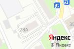 Схема проезда до компании ГАЛЕРЕЯ в Перми
