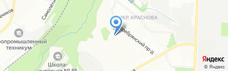 Средняя общеобразовательная школа №41 на карте Перми