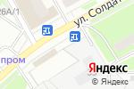 Схема проезда до компании Цветочный салон в Перми