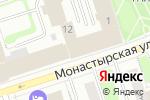 Схема проезда до компании Креативное агентство Дмитрия Корсакова в Перми