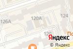 Схема проезда до компании Pinea в Перми