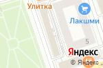 Схема проезда до компании Модные Люди в Перми