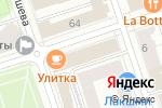 Схема проезда до компании Clumba club в Перми