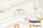 Схема проезда до компании Hollywood brows в Перми