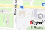 Схема проезда до компании Средняя общеобразовательная школа №60 в Перми