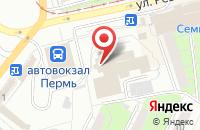 Схема проезда до компании Информационно-Аналитический Центр «Пермская Статистика» в Перми